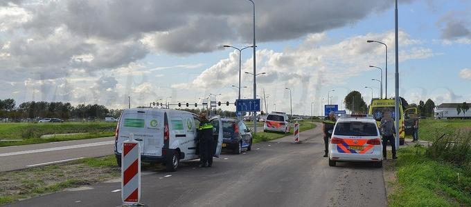 Gewonden bij ongeval in Nieuw-Vennep