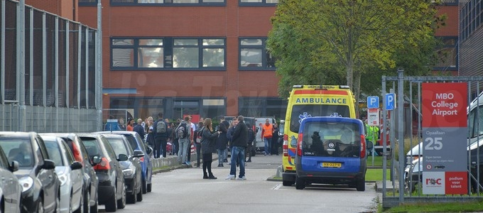 School ontruimd in Hoofddorp