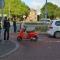 Fietsster gewond op rotonde Beursplein Hoofddorp