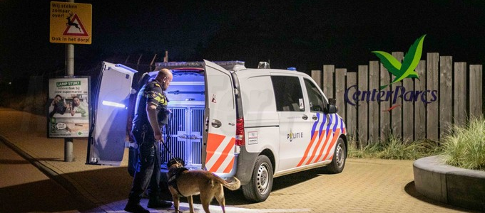 Inbreker  aangehouden bij CenterParcs Zandvoort