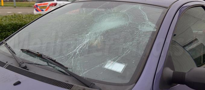 Twee gewonden bij ongeval op de Kruisweg